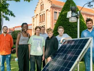 """""""Zeer begaan met klimaatverandering"""": jongeren Berkenboom kijken met weerstation op speelplaats mee naar effecten van opwarming"""