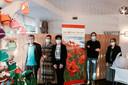 Het team van Huis Erika Thijs met coördinator Sandra Duque (derde van links).