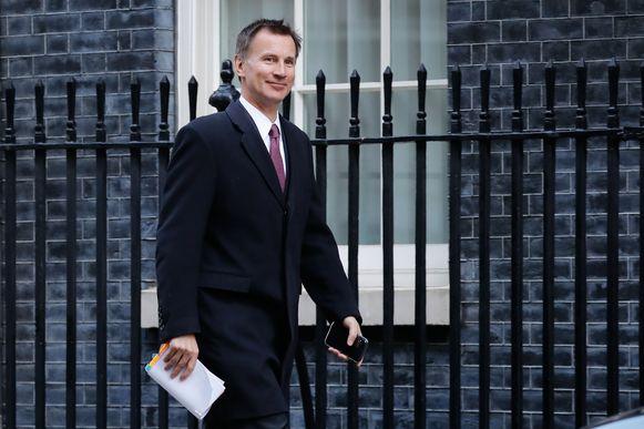 Brits minister van Buitenlandse Zaken Jeremy Hunt.