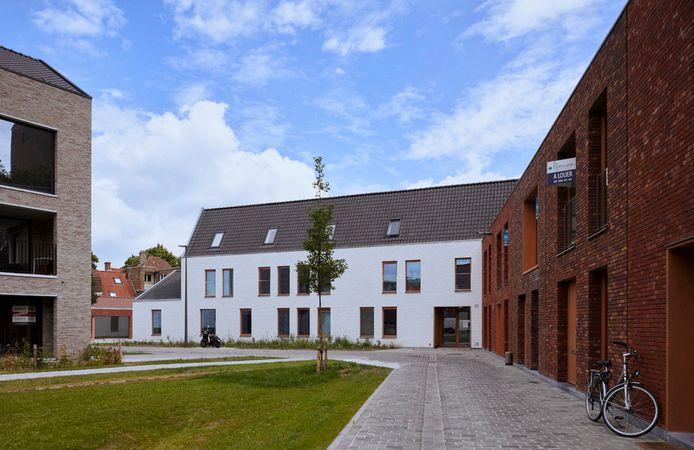 Onder meer Den Indruk in Brugge, bestaande uit 13 studio's voor begeleid wonen, is een project van Inclusio.