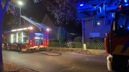 Sauna vat vuur in Sint-Kruis Brugge