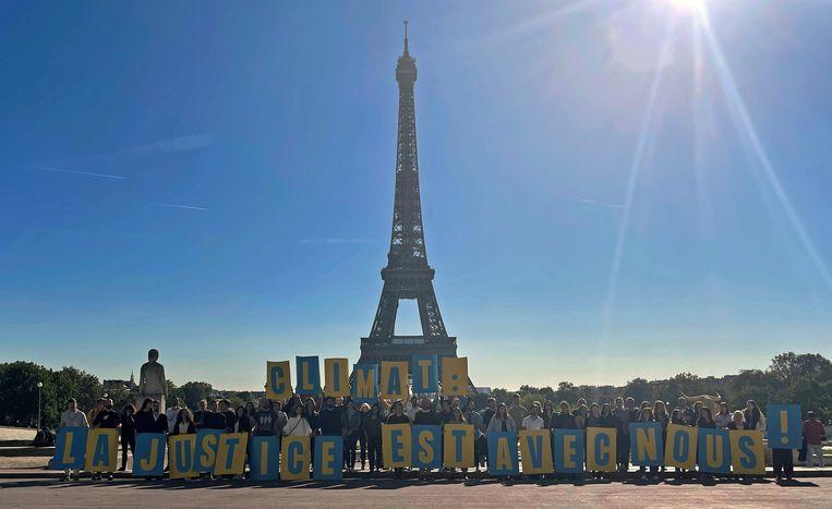 Vier ngo's sleepten de Franse staat voor de rechter. Beeld REUTERS