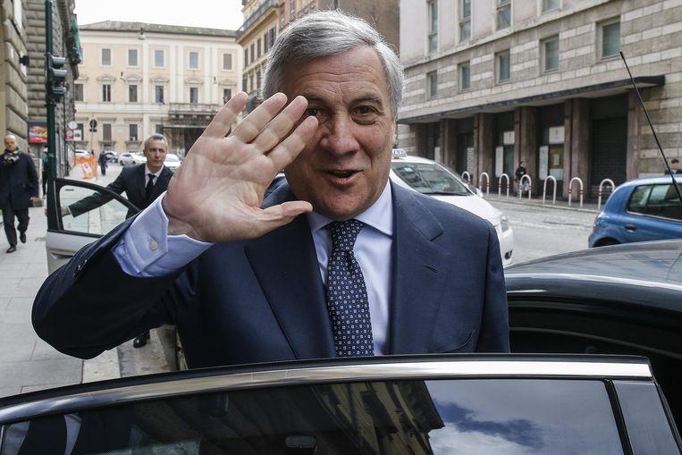 Antonio Tajani. Beeld EPA