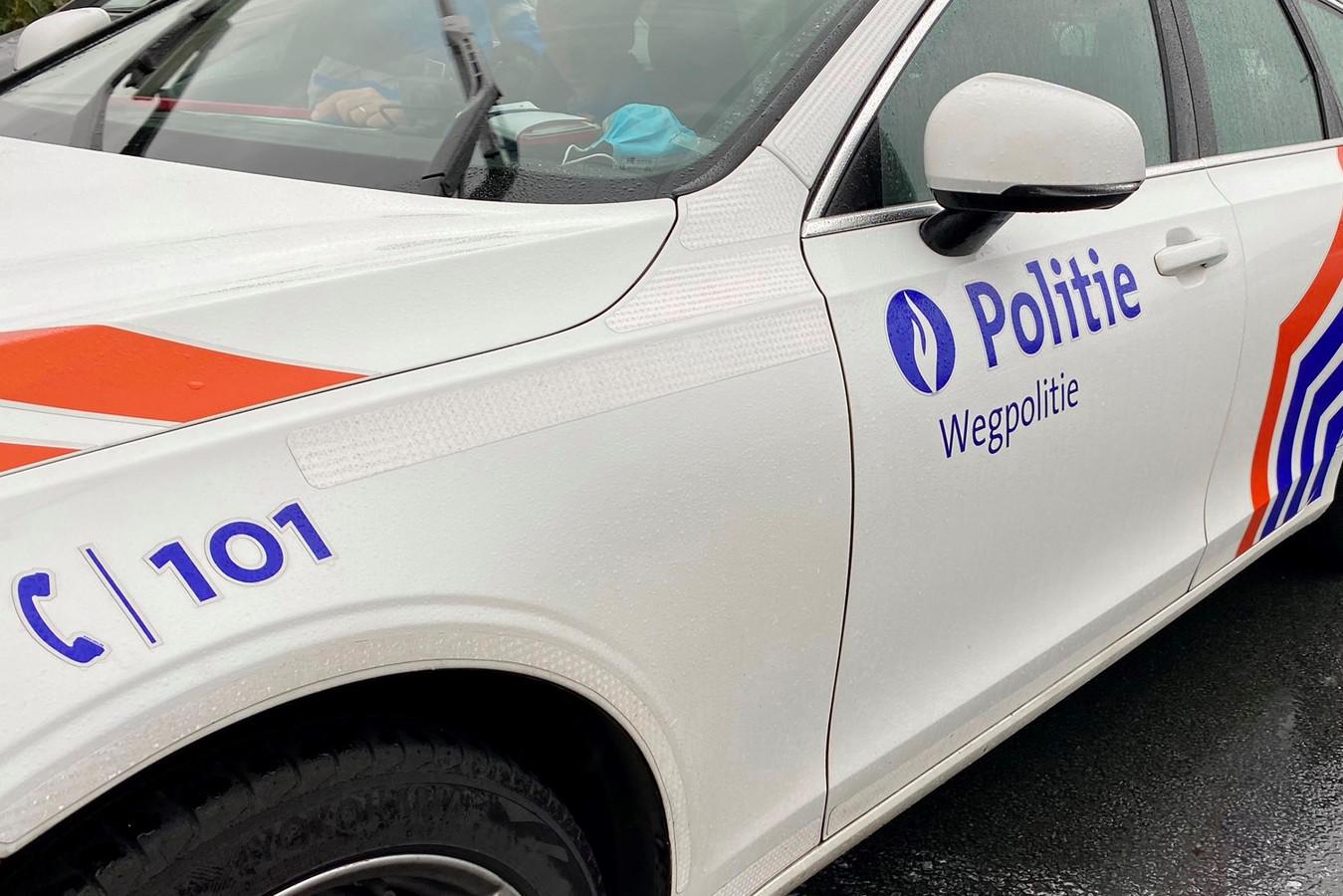 Wegpolitie politie politiewagen