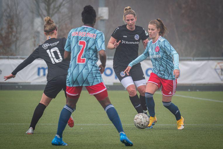 SC Heerenveen - Ajax namen het in februari tegen elkaar op in de Eredivisie Cup. Beeld Pro Shots / ProNews