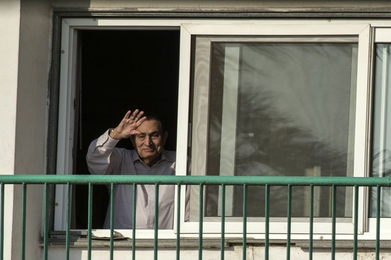 Hosni Moubarak. Beeld AFP