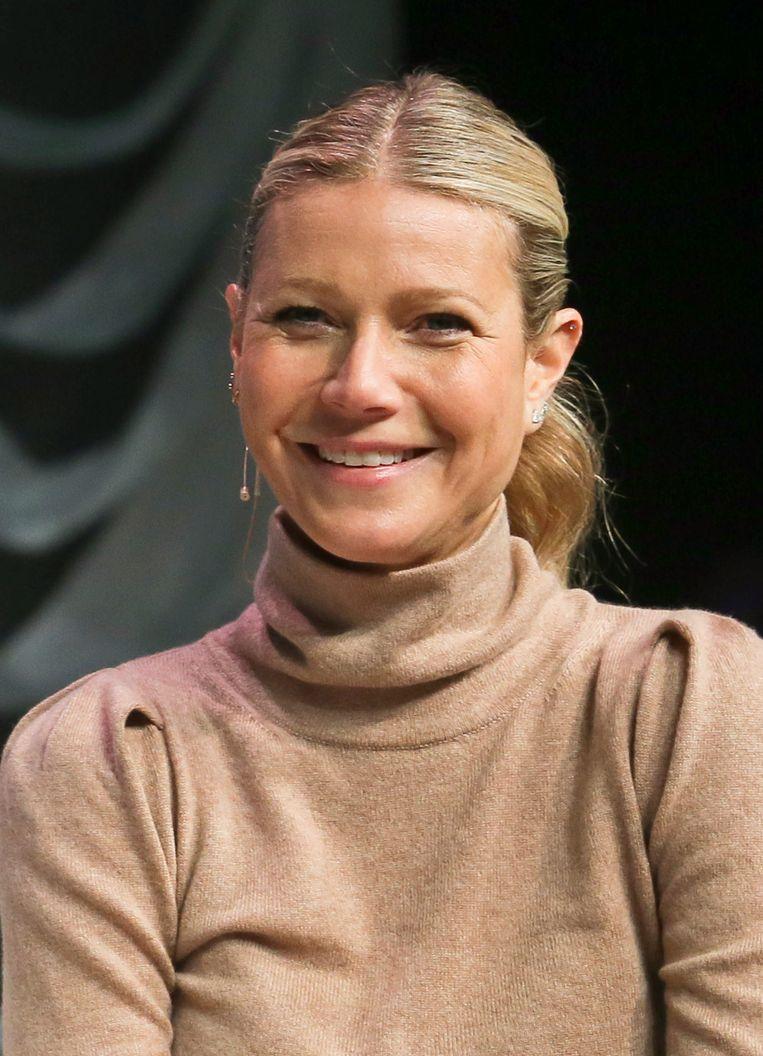Goop, de lifestylewebsite van filmster Gwyneth Paltrow (foto), is momenteel zo'n 250 miljoen dollar waard. Onder meer in de webshop: een meditatiekaars van 175 dollar. Beeld Jack Plunkett/Invision/AP