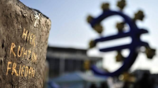 Economie eurozone gaat met 0,1 procent achteruit in derde trimester