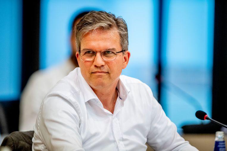 Viroloog Arnold Bosman. Beeld Hollandse Hoogte / Robin Utrecht
