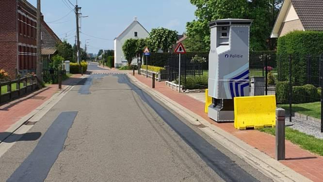 122 bestuurders reden afgelopen week te snel in de Bredestraat in Lievegem