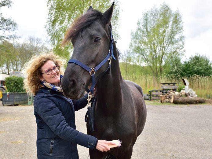 Suzanne Hornes van de Goudse Manege.