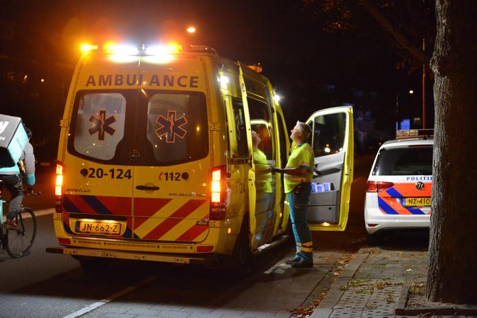Ongeval kruisuing Julianalaan Irenestraat in Breda.
