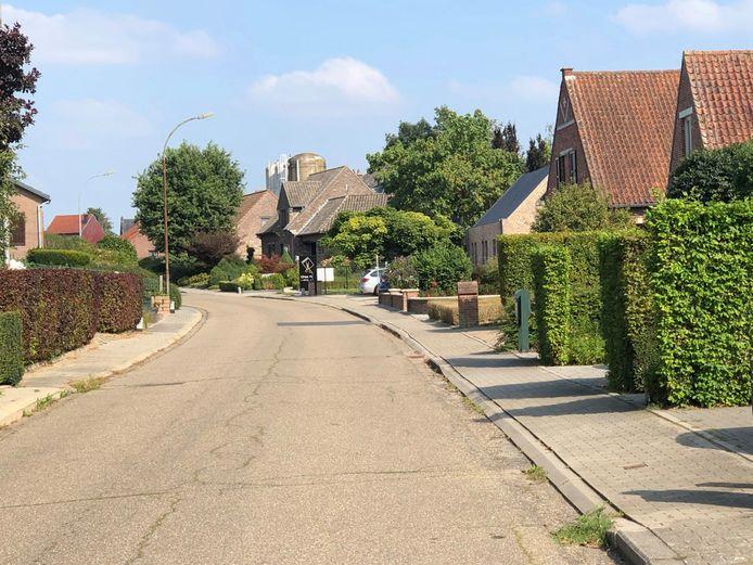 St.-Barbarastraat in Kumtich.