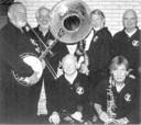 De Windy City Jazz Band in ca. 2006, met (tweede van links) Siem Keijzer.