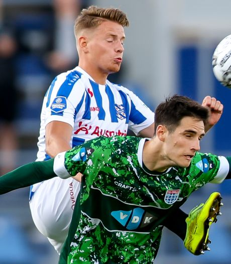 PEC Zwolle strijdt wel, maar krijgt maar bar weinig echte kansen tegen Heerenveen: 0-2