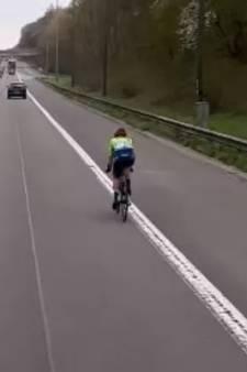 Renster neemt verkeerde afslag in Brabantse Pijl en belandt op ring van Brussel