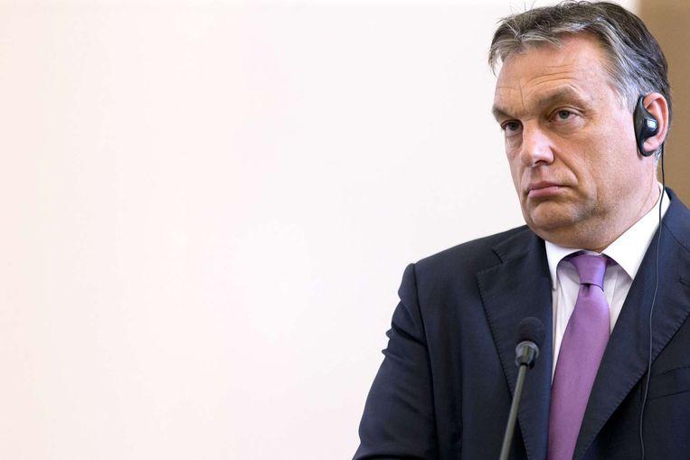 De Hongaarse premier Viktor Orban. Beeld ANP