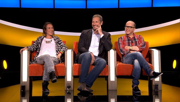 Slongs Dievanongs, Gert Verhulst en Marc-Marie Huybrechts. Beeld VIER