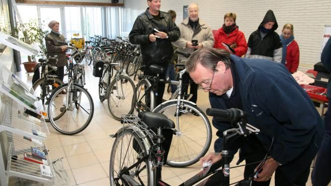 Brakelse politie registreert morgen fietsen tegen diefstal
