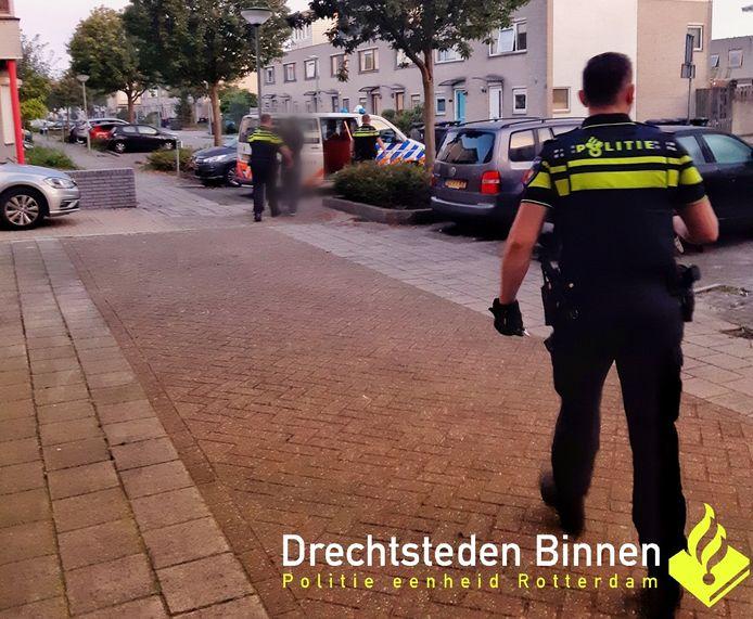 De Dordtenaar kon worden opgepakt na een achtervolging door de wijk Stadspolders.