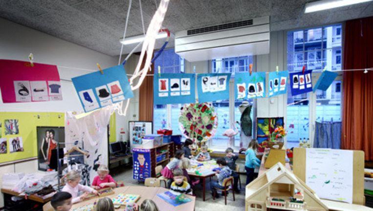 De Annie M.G. Schmidtschool basisschool in Oud West. Foto Jean-Pierre Jans Beeld
