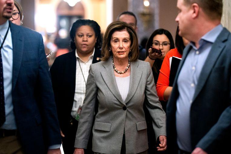 Nancy Pelosi. Beeld EPA