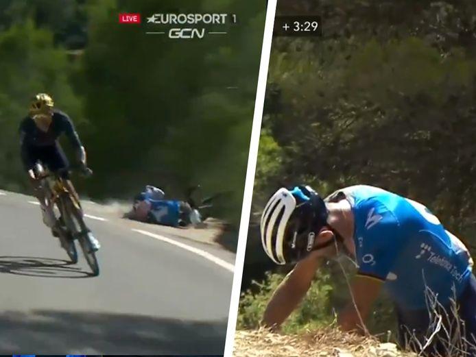 De val van Valverde.