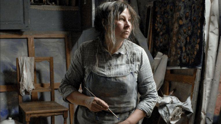 Yolande Moreau in Séraphine. Beeld ..