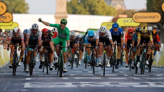 Morkov en Rickaert nóg belangrijker voor Cavendish en Philipsen? Finish op Champs-Elysées ligt 300 meter verder dan andere jaren