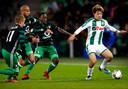 Bij FC Groningen verdiende Ritsu Doan een transfer naar PSV.