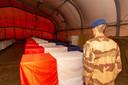 De lichamen van de Franse soldaten zullen naar Parijs worden overgebracht.
