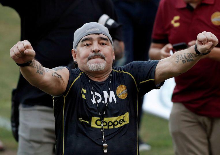 Diego Maradona Beeld REUTERS