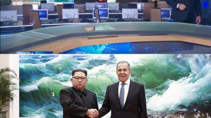 Russen toveren glimlach op gezicht Kim Jong-un