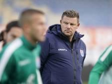 PEC Zwolle-trainer John Stegeman: 'Tegen Willem II moet het efficiënter'
