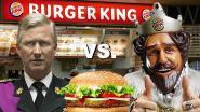 "Paleis niet te spreken over deze reclame: ""Wie is beste koning? Filip of Burger King?"""