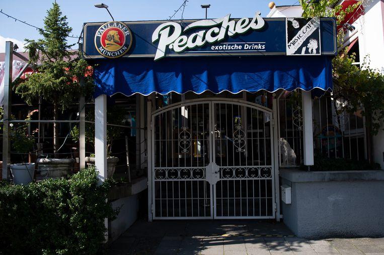 De Peaches-cocktailbar waar de Amerikaanse vrouw ondanks haar quarantaineverplichting uitging. Beeld EPA