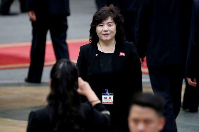 Choe Son Hui, de Noord-Koreaanse viceminister van Buitenlandse Zaken