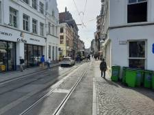 Ontwrichte knie legt tramverkeer tijdlang stil