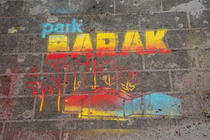 De 20-jarige Kask-studente Kaat Van De Reviere, leidster bij meisjeschiro Balegem, ontwierp de illustratie bij het site logo.