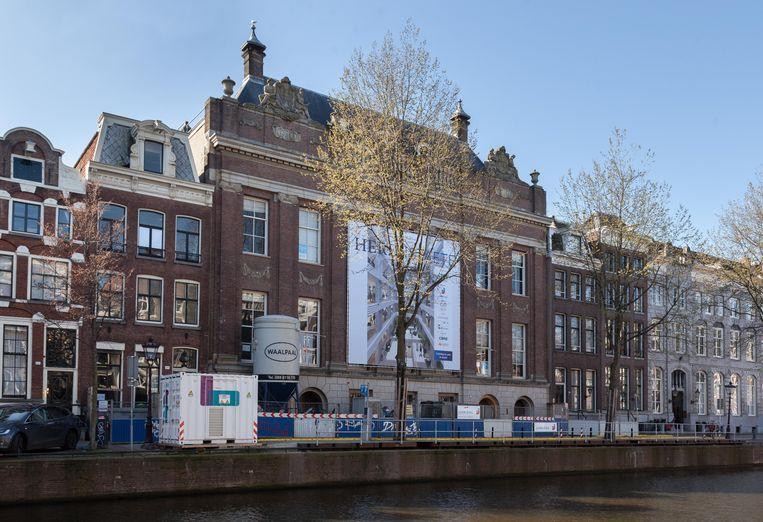 Herengracht 206-216, dubbel grachtenpand anno 1616, voorheen zakenbank Pierson & Co. Beeld Nina Schollaardt