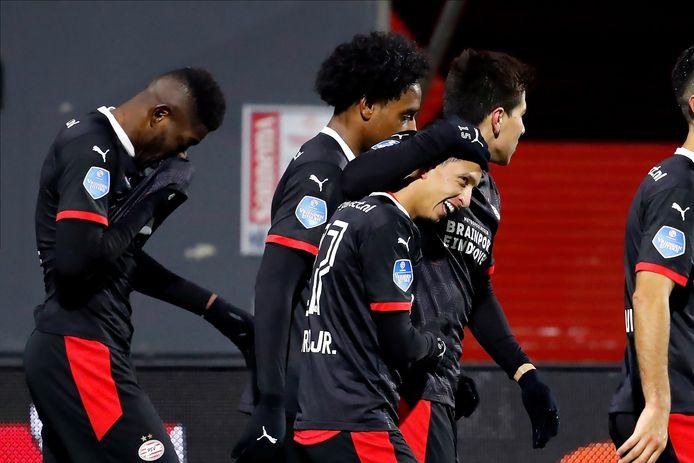 Mauro Júnior was de gevierde man bij PSV, hij viel in met een doelpunt en een assist.