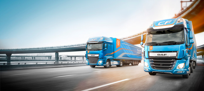 De vernieuwde DAF-serie is uitgeroepen tot 'international truck of the year'.