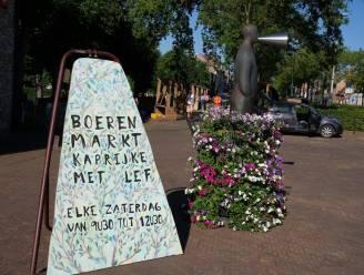 Boerenmarkt Kaprijke loopt zeker al door tot eind september