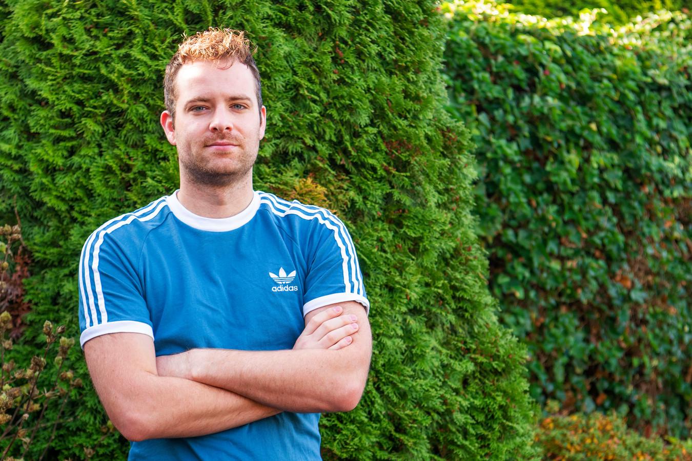 Vincent Jansen, doelman bij voetbalclub RKSV Heeze