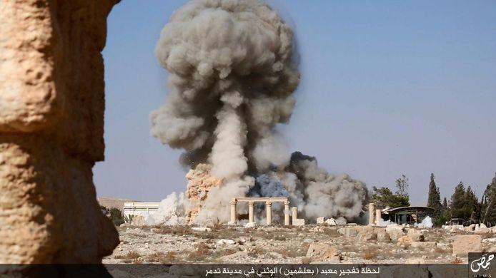 Tempel van Baal-Shamin in Palmyra
