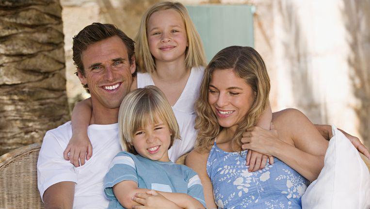 Mama, papa en twee kinderen: het is allang niet meer de norm. Beeld THINKSTOCK
