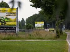 Reclameborden zijn een ramp voor het landschap; geen reclame in het middengebied graag!