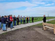 Vijf nieuwe bankjes voor recreanten langs Reevediep bij Kampen