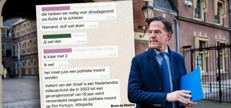 Werkstraf voor doodsbedreiging Rutte: 'Ik heb spijt en zou het liefst een gebakje met hem gaan eten'