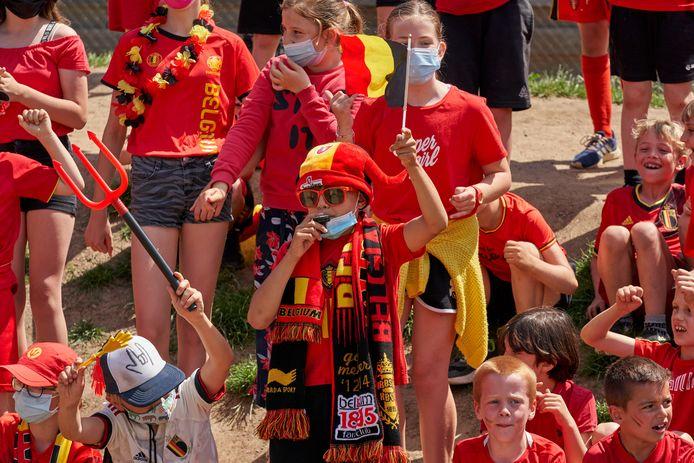 Red Challenge Bierbeek Gemeenteschool 't Klavertje June 10, 2021 in Bierbeek, Belgium, 10/06/2021 ( Photo by Vincent Duterne / Photonews